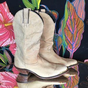 VINTAGE / Gold Tip Code West Cowboy Boot